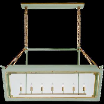 Caddo Large Linear Lantern (279|JN 5025CEL/G-CG)