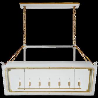 Caddo Large Linear Lantern (279|JN 5025SW/G-CG)