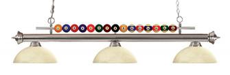 3 Light Billiard Light (276|170BN-DGM14)