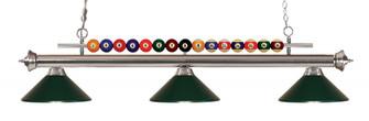3 Light Billiard Light (276|170BN-MDG)