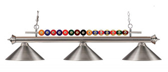 3 Light Billiard Light (276|170BN-MBN)