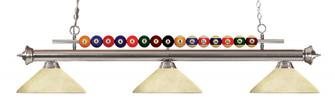 3 Light Billiard Light (276|170BN-AGM14)