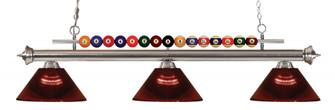 3 Light Billiard Light (276|170BN-ARBG)