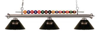 3 Light Billiard Light (276|170BN-ARS)