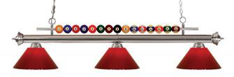 3 Light Billiard Light (276|170BN-PRD)