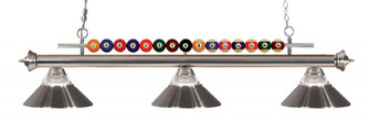 3 Light Billiard Light (276|170BN-RBN)