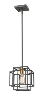 1 Light Mini Pendant (276|454MP-BRZ-OBR)