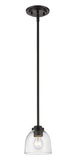 1 Light Mini Pendant (276|460MP-BRZ)