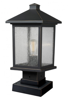 1 Light Outdoor Pier Mount Light (531PHMS-SQPM-ORB)