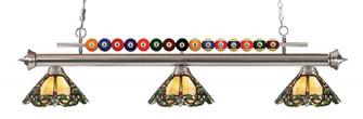 3 Light Billiard Light (276|170BN-Z14-37)