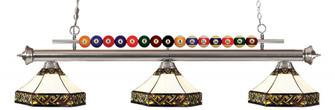 3 Light Billiard Light (276|170BN-Z16-30)