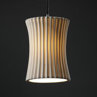 Small 1-Light Pendant (POR-8816-60-WFAL-NCKL)