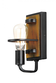 Black Forest-Wall Sconce (10301BKASB)