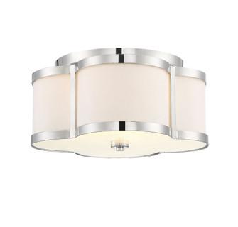 Lacey 3 Light Polished Nickel Semi-Flush (128|6-2706-3-109)
