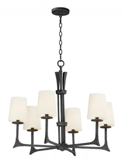 Anvil-Chandelier (30305NI/SHD308CV)
