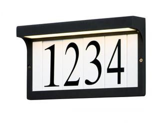 LED Address Light Frame (19|53610BK)