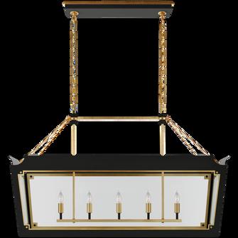 Caddo Medium Linear Lantern (279|JN 5023MBK/G-CG)