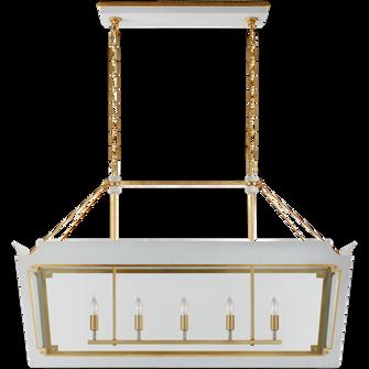 Caddo Medium Linear Lantern (279|JN 5023SW/G-CG)