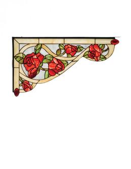 "23""W X 13""H Bed of Roses Left Corner Bracket (96 67138)"