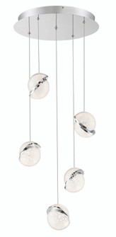 5 LIGHT LED PENDANT (77 P1445-077-L)