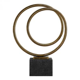 Uttermost Oja Gold Sculpture (85|18771)