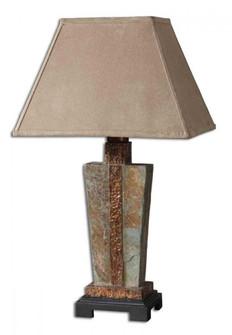 Uttermost Slate Accent Lamp (85|26322-1)