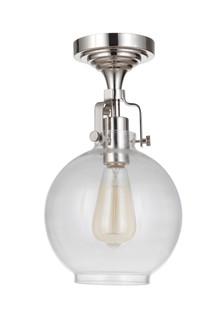 1 Light Semiflush (X8308-PLN-C)