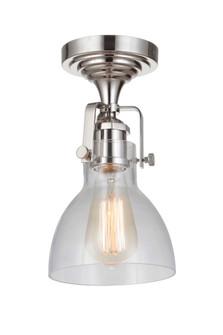1 Light Semiflush (X8317-PLN-C)