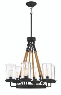 6 Light Outdoor Chandelier (20 52026-ESP)
