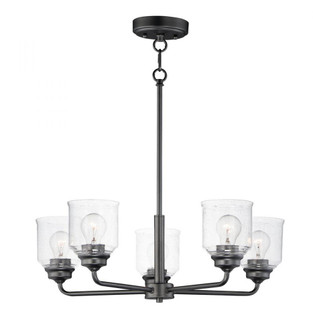 Acadia-Single-Tier Chandelier (12266CDBK)