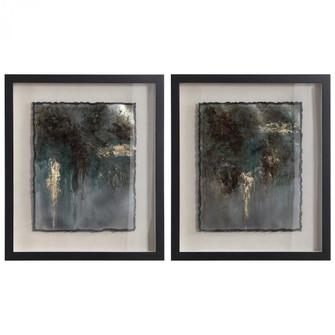 Uttermost Rustic Patina Framed Prints, Set/2 (85|35366)
