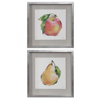 Uttermost Designer Fruits Framed Prints, Set/2 (85|41599)