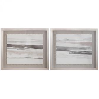 Uttermost Neutral Landscape Framed Prints, Set/2 (85|36114)