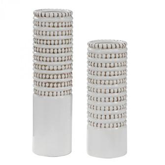 Uttermost Angelou White Vases, Set/2 (85|17570)