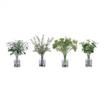 Uttermost Ceci Kitchen Herbs, Set/4 (85|60148)