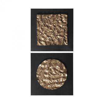 Uttermost Boaz Gold Wall Decor, Set/2 (85|04200)
