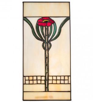 6'' Wide X 12'' High Poppy Window (96|67291)