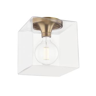 1 LIGHT FLUSH MOUNT (6939|H284501SQL-AGB)