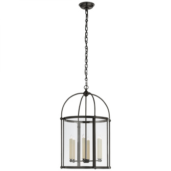 Riverside Medium Round Lantern (279|CHC 3451BZ-CG)