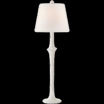 Bates Sculpted Buffet Lamp (279|CHA 8718WHT-L)