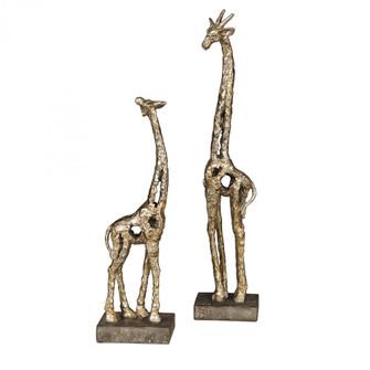 Uttermost Masai Giraffe Figurines, S/2 (85|17522)