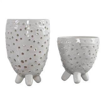 Uttermost Milla Mid-Century Modern Vases, S/2 (85|17527)