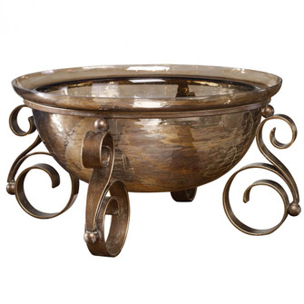 Uttermost Alya Bronze Glass Bowl (85|18955)