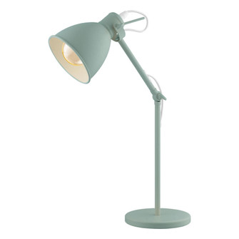 1x40W Desk Lamp with Pastel Light Green Finish (164|49097A)