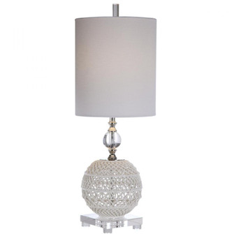 Uttermost Mazarine Open Ceramic Buffet Lamp (29741-1)