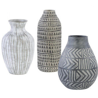 Uttermost Natchez Geometric Vases, S/3 (85 17716)
