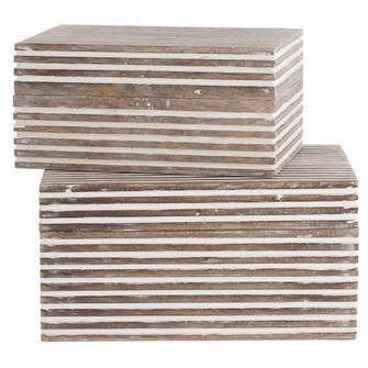 Trinity Small Boxes, Set of 2 (314|4296)
