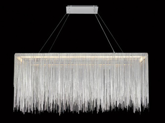 FOUNTAIN AVE. COLLECTION CHROME JEWELRY RECTANGLE HANGING FIXTURE (4450|HF1201-CH)