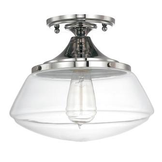 1 Light Semi-Flush (42|3537PN-134)