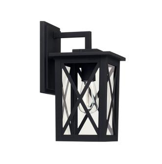 1 Light Outdoor Wall Lantern (42|926611BK)